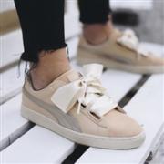Puma彪马 Basket Heart女士蝴蝶结运动鞋 两色凑单折后$32+$7.95美境运费