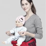 轻松抱娃!满满爱 前抱式四季多功能 婴儿腰凳    14.9元包邮(需用券)¥14.90 0.5折