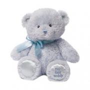 GUND 我的第一只泰迪熊毛绒玩具 蓝色 10英寸(25cm) 折49.5元(2件5折)¥49.50 2.5折