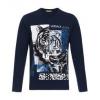 VERSACE JEANS 范思哲 B3GRA76C 36609 男士老虎图案棉质长袖T恤808.8元包邮