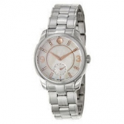 Movado 摩凡陀 LX系列 0606619 女士珍珠母+镶钻腕表
