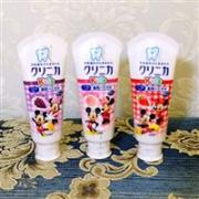 LION狮王 防龋齿防蛀儿童牙膏 可吞咽 水蜜桃味 60g*3支装