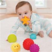 凑单品:infantino 婴智宝 多功能 纹理感知球 6个装