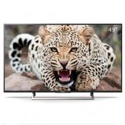 SONY 索尼 KD-49X7500E 49英寸 超窄铝边框 4K超清液晶电视