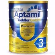 Aptamil 爱他美 婴儿牛奶粉金装 3段 900g*3罐