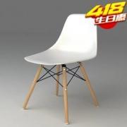 匠林家私 家用电脑椅 白色69元包邮