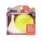 B.toys 比乐 小蜗牛斯科牙胶玩具 *2件