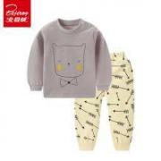 Beijirong 北极绒 儿童纯棉内衣套装14.9元包邮(需用券)