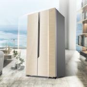 Hisense 海信 529升 对开门冰箱 矢量双变频 风冷无霜 电脑控温 玻璃面板 BCD-529WFB1DPQ
