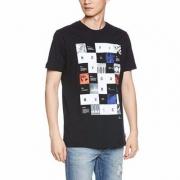 Diesel 迪赛 男士纯棉印花T恤 M码 Prime会员凑单免费直邮