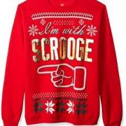 限XL码!HANES Ugly Christmas 男士针织衫