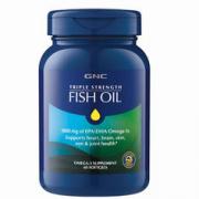 GNC 三倍强效深海鱼油 60粒