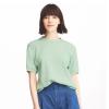 UNIQLO优衣库 女装华夫格圆领T恤(五分袖)79元(多色可选)
