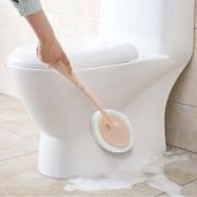 家居清洁# 卫生间长柄纳米海绵清洁刷4件套
