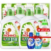 【抢第2件0元】妈妈壹选洗衣液天然皂液套装洗护合一正品包邮¥49.50 2.5折 比上一次爆料降低 ¥49.5