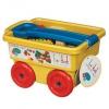 Battat 积木玩具 大颗粒拼插积木+收纳拉杆旅行车99元包邮