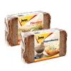 德国进口 捷森 全麦黑麦面包500g*2袋 健身饱腹代餐31.9元包邮