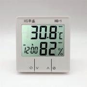 华盛 电子数字高精度 干湿温度计 带闹钟功能
