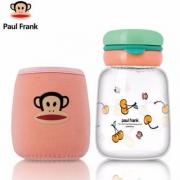 Paulfrank 大嘴猴 便携玻璃杯280ml 送杯刷杯套¥29包邮(需用¥20优惠券)