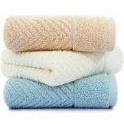 SANLI 三利 纯棉A类 标准简约 素雅毛巾 34*71cm 3条装14.9元