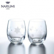 Narumi 鸣海 雪花&星星 玻璃对杯 260cc Prime会员凑单直邮含税到手¥181