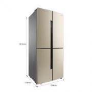 Ronshen 容声 BCD-456WD11FP 十字对开门冰箱 456L3799元包邮
