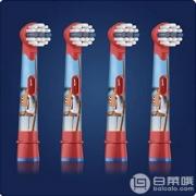 Oral-B 欧乐B Stages Power 儿童电动牙刷替换刷头*4支 Prime会员凑单免费直邮含税