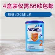 Aptamil 爱他美 2EP婴儿奶粉 2段 800g*4盒