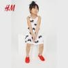 H&M 女童 无袖印花连衣裙 34.9元包邮(需用券)¥34.90