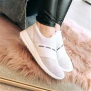 adidas 阿迪达斯 Refine Adapt 女士一脚蹬运动鞋 水蓝色