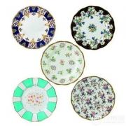 Royal Albert 100周年纪念系列 8寸骨瓷餐盘5件套1900-1940 Prime会员免费直邮含税