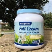 Maxigenes 美可卓 澳洲蓝胖子奶粉 高钙 成人全脂奶粉1kg