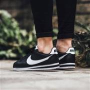 NIKE 耐克 CLASSIC CORTEZ 经典款阿甘鞋 黑白色