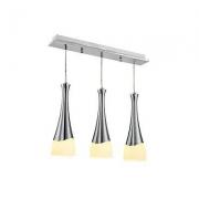 nvc-lighting 雷士照明 酒杯创意三头餐厅吊灯 *2件 +凑单品301.9元(合150.95元/件)