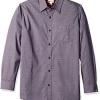 Haggar Cotton Prints男士长袖衬衫$11.54(折¥73.86) 9.6折