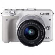 Canon 佳能 EOS M3(EF-M 15-45 IS STM)微型单电套机2599元包邮