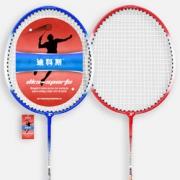 送耐打王羽毛球3个! 迪科斯 羽毛球拍  2支装   16.8元包邮¥16.80 2.5折