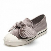 Teenmix天美意 丝绒麋鹿翅膀乐福鞋