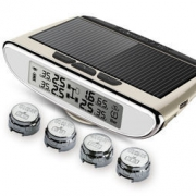 steelmate 铁将军 胎压监测 太阳能无线 智感960 外置 香槟金