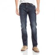 Lee 男士现代系列极限运动修身直筒牛仔裤