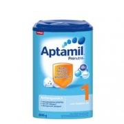 Aptamil 德国爱他美 婴儿奶粉 1段 800克/罐 4罐装