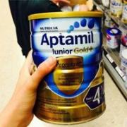 Aptamil爱他美 金装奶粉3段/4段 900g特价AU$17.99,可叠加网站活动