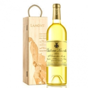 LAMONT 拉蒙 劳雷特 贵腐甜白葡萄酒 单支木盒装 750ml *2件498元包邮(798-300)