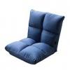择木宜居 布艺沙发床 折叠懒单人榻榻米床 蓝色148元包邮
