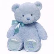 Gund My First Teddy 毛绒泰迪熊38cm