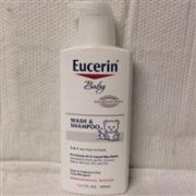 Eucerin优色林宝宝洗发沐浴露 400ml*3瓶装