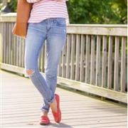 COACH蔻驰 Olive 真皮标志印花平底鞋 多色可选