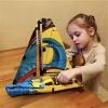 LEGO 乐高 科技机械组 42074 竞赛帆船特价£19.99,约178元,可凑单直邮