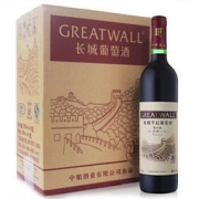 GreatWall 长城  特酿3年 解百纳干红葡萄酒 整箱装 750ml*6瓶