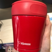 Zojirushi象印不锈钢双层真空焖烧杯SW-GC36-RA 红色补货新低1531日元(约¥89.5)